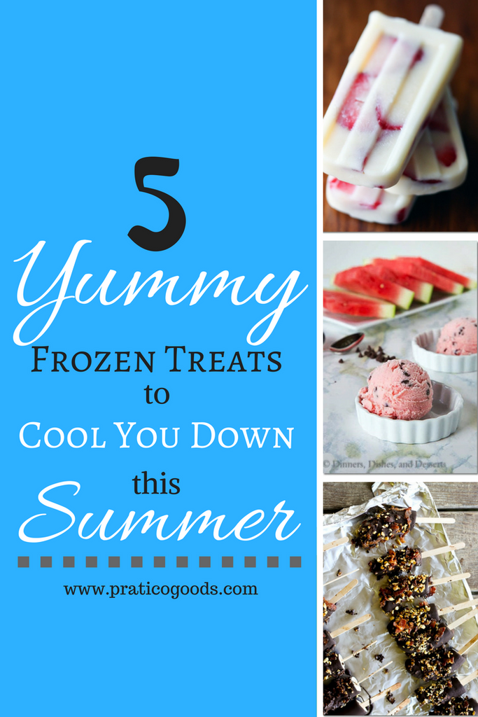 5 Yummy Frozen Treats to Cool You Down This Summer