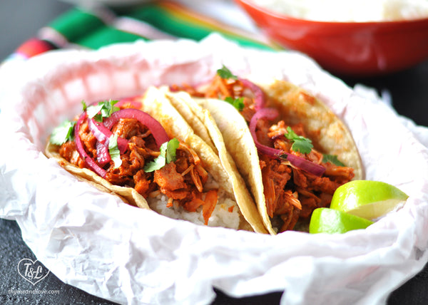 jackfruit rice taco by Thyme & Love