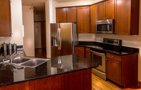 cabinets and refrigerators
