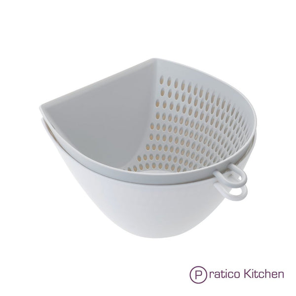cleverona kitchen multipurpose strainer, mixing bowl, and measuring cup
