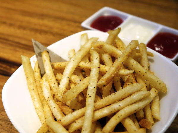 sour cream and onion French fries
