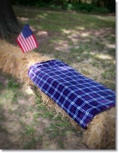 outdoor fleece blanket