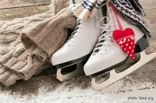 winter ice skating