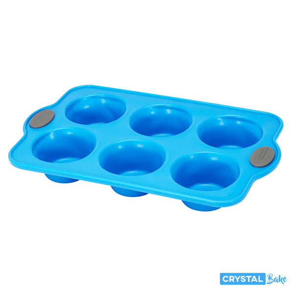 silicone baking pan 6 cups