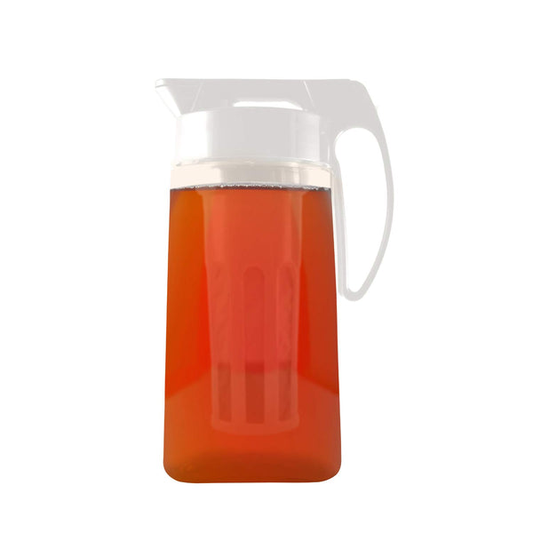 small pitcher with iced tea infuser