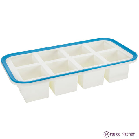 spill resistant silicone ice tray