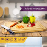Bamboo Cutting Board with Juice Groove - Small