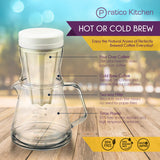 Duet Drip Brew and Cold Brew Multipurpose Coffee Maker
