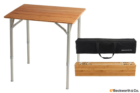 Folding picnic table with carrying case