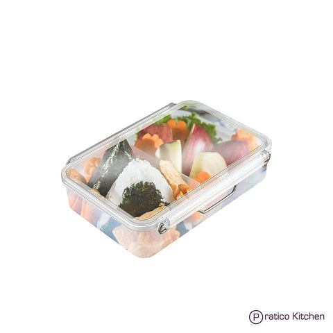 Adjustable Meal Prep Container with Leakproof Lid Lock