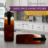 largepour space saving pitcher