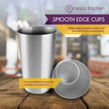 smooth edge cups 4 pack sleek edge