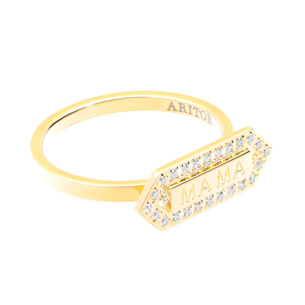 nac long gold product enamel ring detail exquisite jewellery