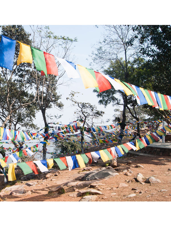 8 Auspicious Symbols Prayer Flags