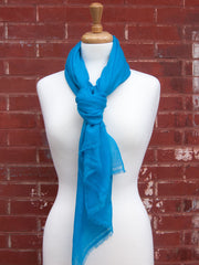 Blue Light Cashmere Scarf