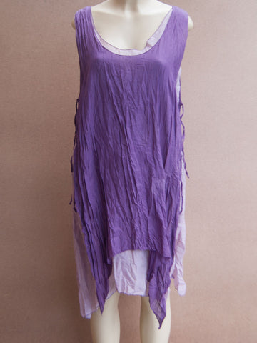 Adustable Layered Cotton Dress
