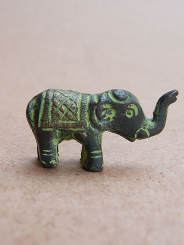 Elephant trunk  Brass Incense Burner