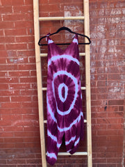 Tie Dye Jumpsuit with Pockets.