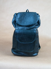 Bag - Glossy Small Leather Book Bag