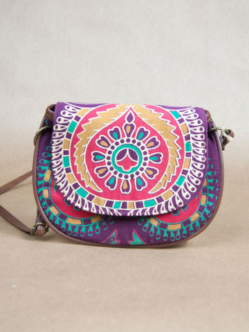 Bag - Tribal Canvas Side Bag