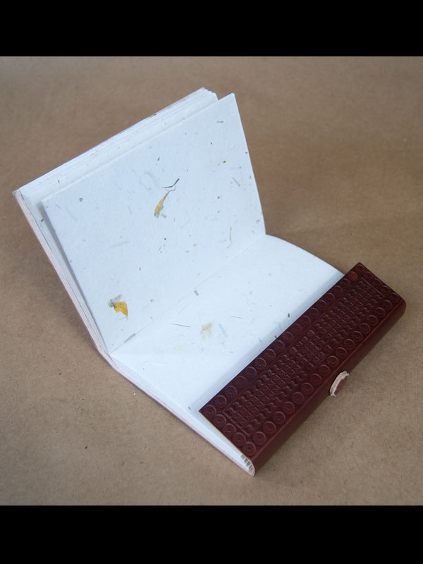 Book - Extra Large Leather Bound Rice Paper Journal