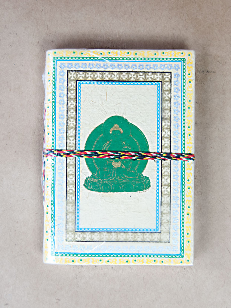 Book - Green Buddha Rice Paper Journal