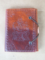 Book - Large Leather Bound Rice Paper Journal