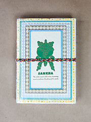 Book - Medium 8 Auspicious Symbols Rice Paper Journal