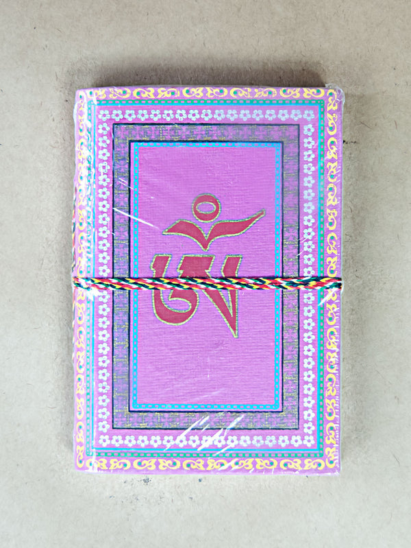 Book - Medium Om Rice Paper Journal