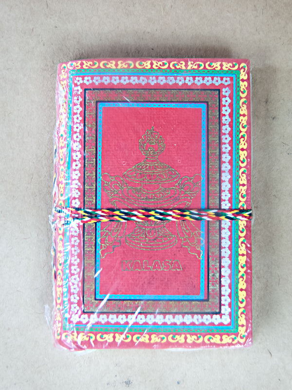 Book - Small 8 Auspicious Symbols Rice Paper Journal