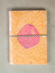 Book - Small Leaf Rice Paper Journal
