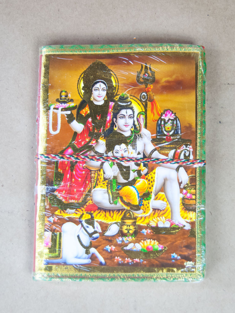 Book - Vishnu, Parvati, Ganesha Rice Paper Journal