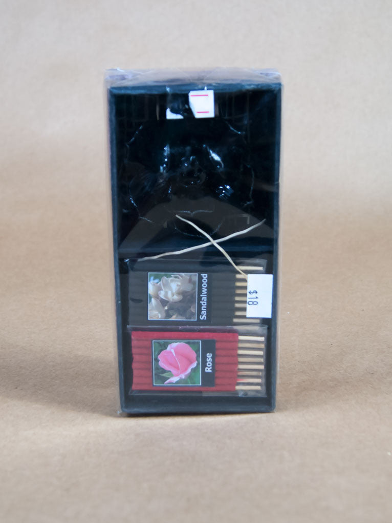 Incense Set - Lotus Incense Set With Sandalwood And Rose
