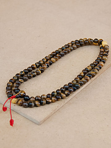 Malabead - Tiger's Eye Mala Bead
