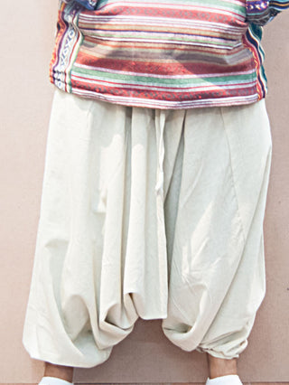 Pants - Plain Cotton Harem Pants
