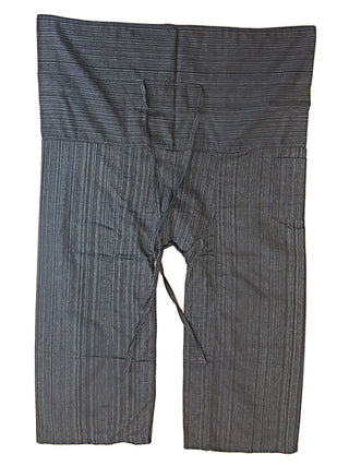 Pants - Striped Fisherman Pants
