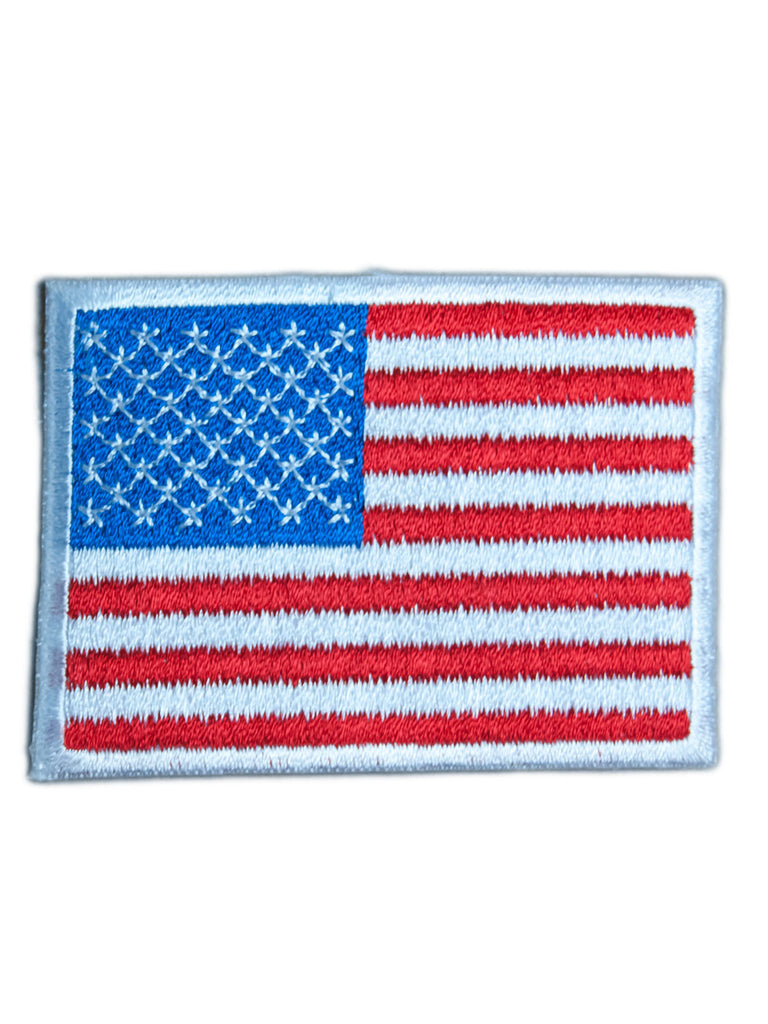 Patch - American Flag Iron On Patch
