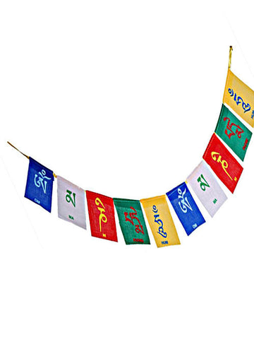 Prayer Flags - Om Mani Padme Hum Mini Prayer Flags
