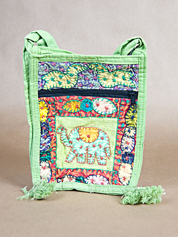 Purse - Cotton Cloth Side Bag