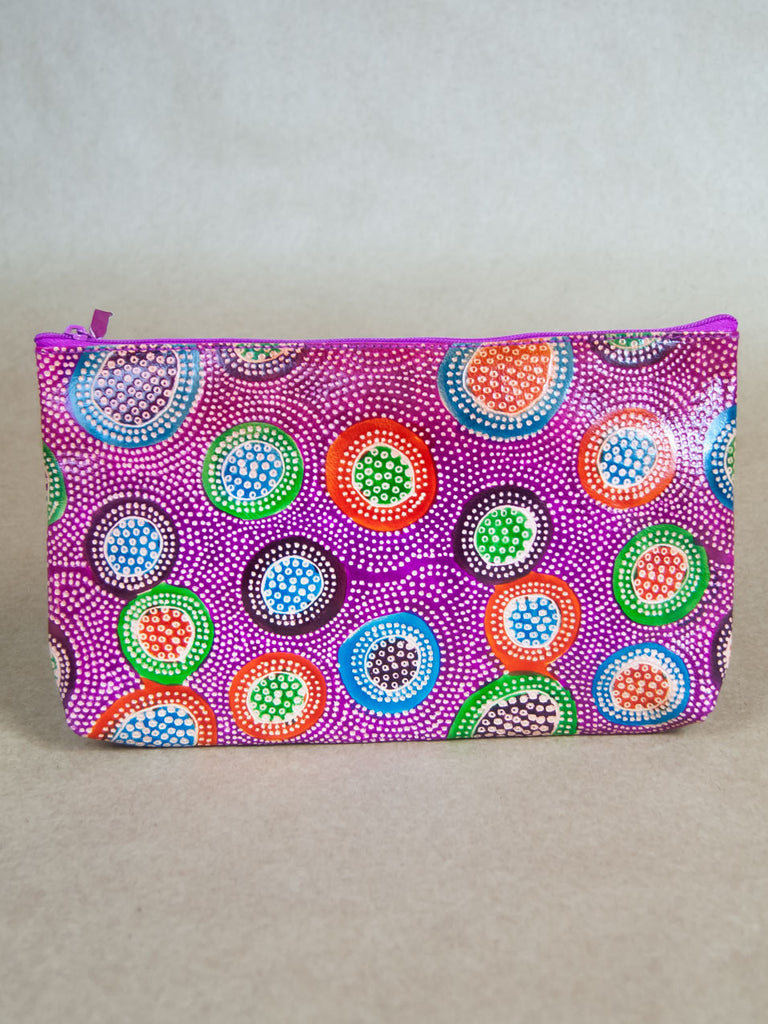 Purse - Firework Leather Clutch
