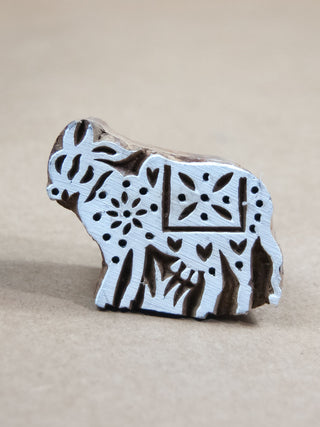 Stamp - Wooden Cow Block Print Stamp