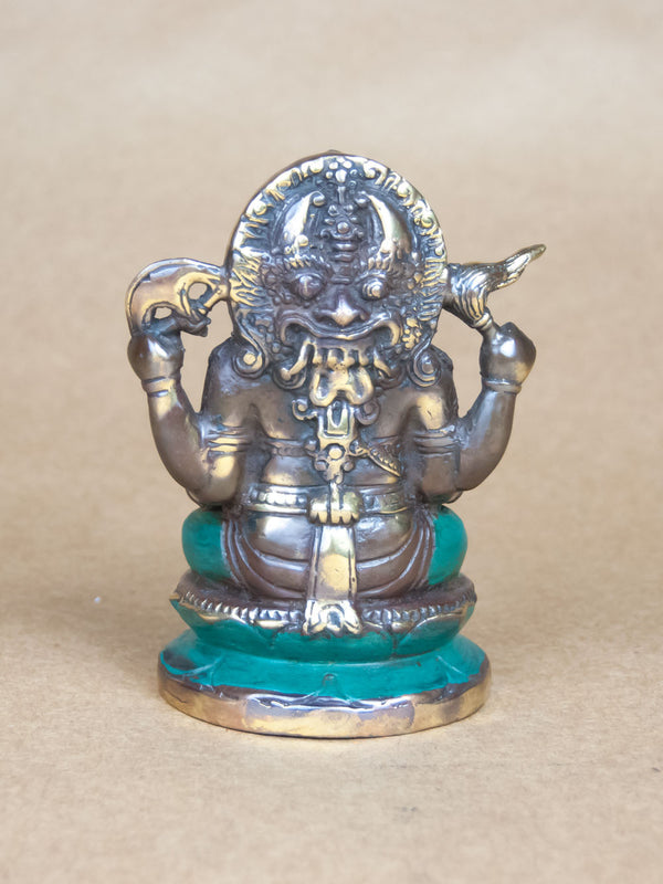 Statues - Antique Finished Brass Ganesha Statue