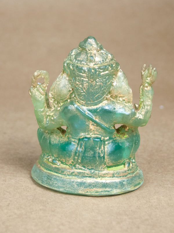 Statues - Tree Sap Resin Ganesha Statue