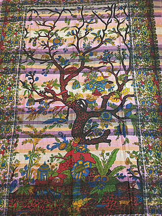 Tapestry - Twin Sized Tree Of Life Tapestry