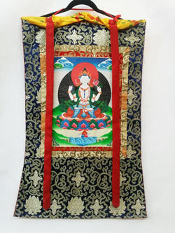 Thangka - Medium Avolakestisvara