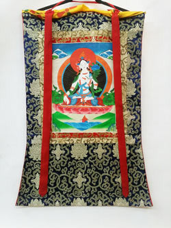 Thangka - White Tara Thangka