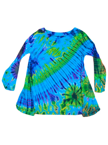 Top - Tie Dye Long Top