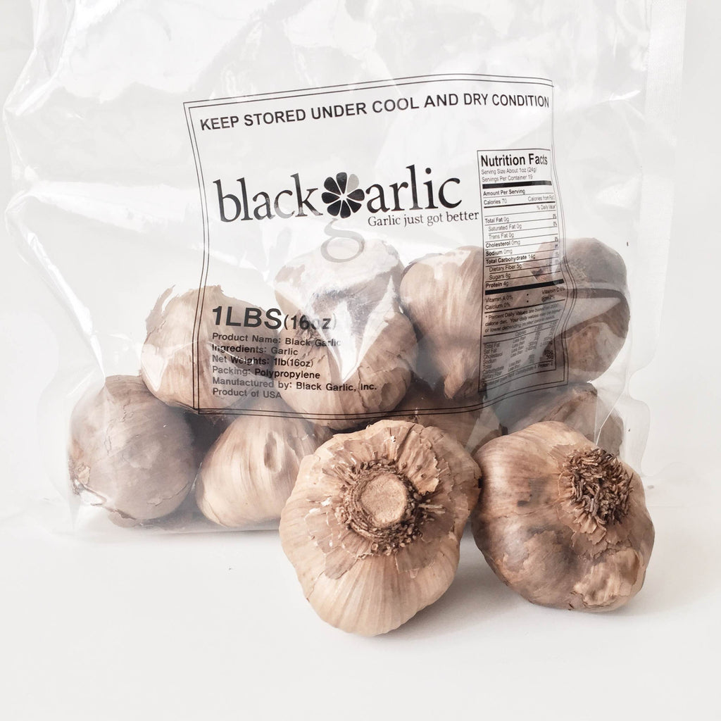 whole black garlic bulds 1lb