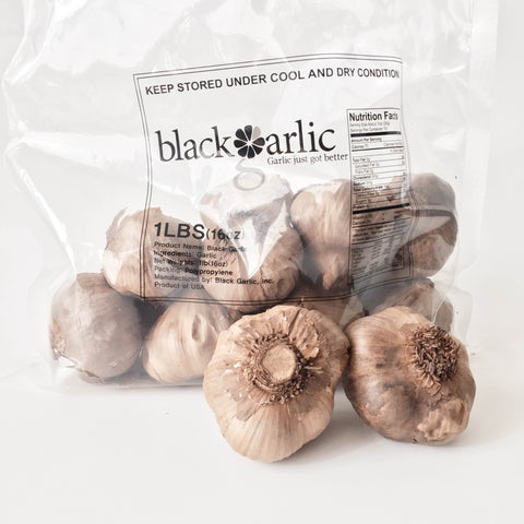 Whole Black Garlic bulbs -1 lb