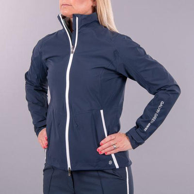 Galvin Green Womens ALICIA GORE-TEX PACLITE Jacket - NAVY/WHITE
